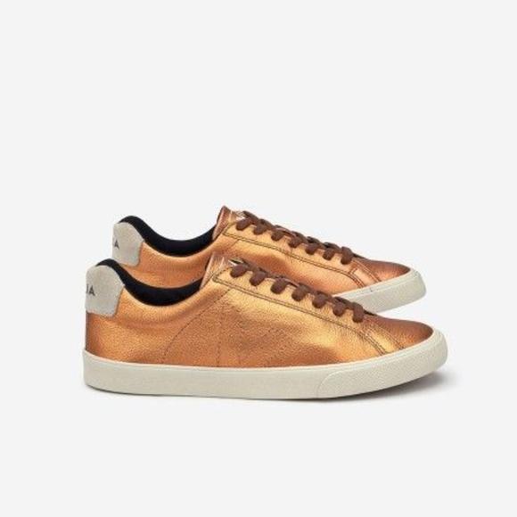 Veja Esplar Metallic Bronze Sneaker